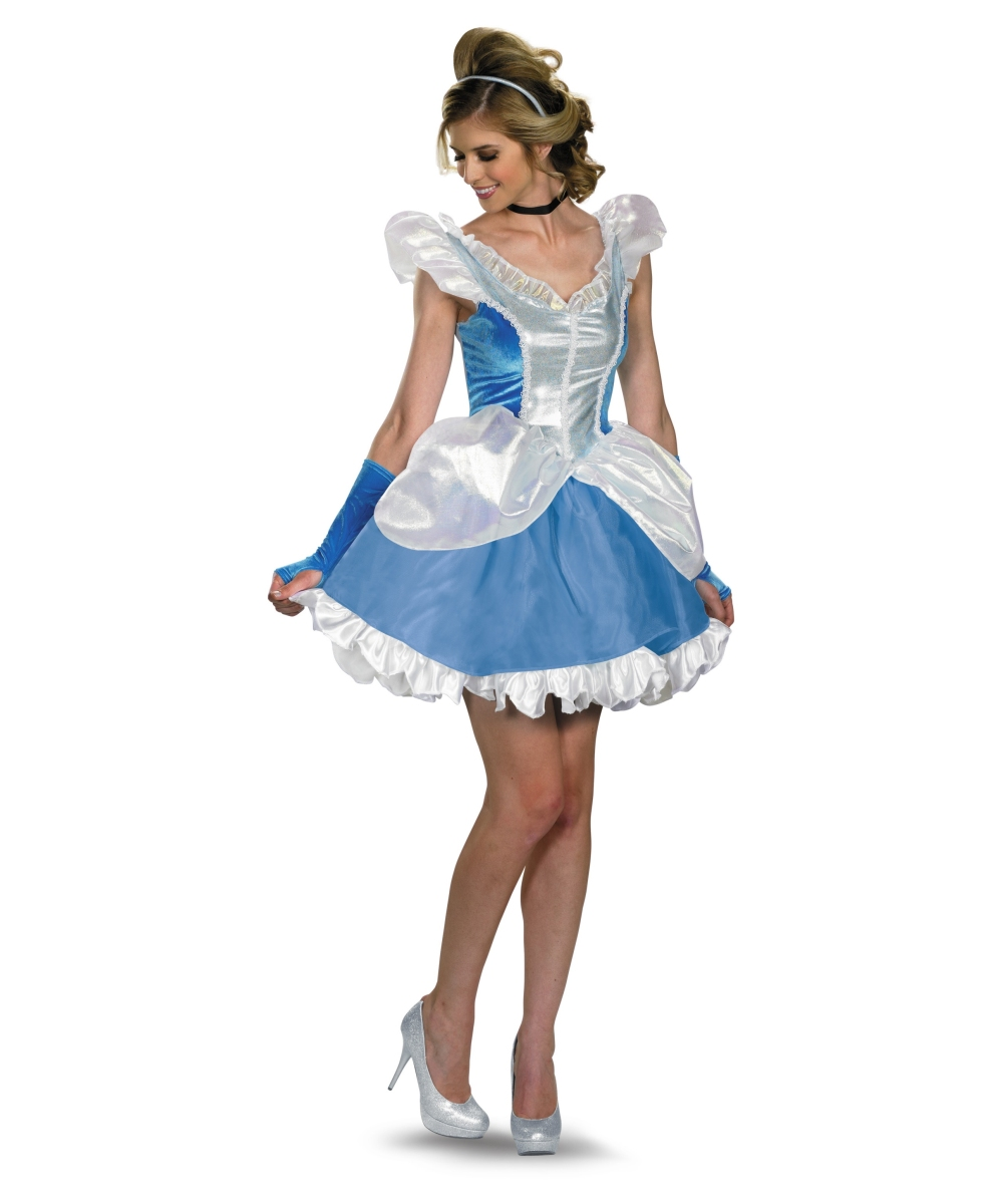 Princess Cinderella Women Costume