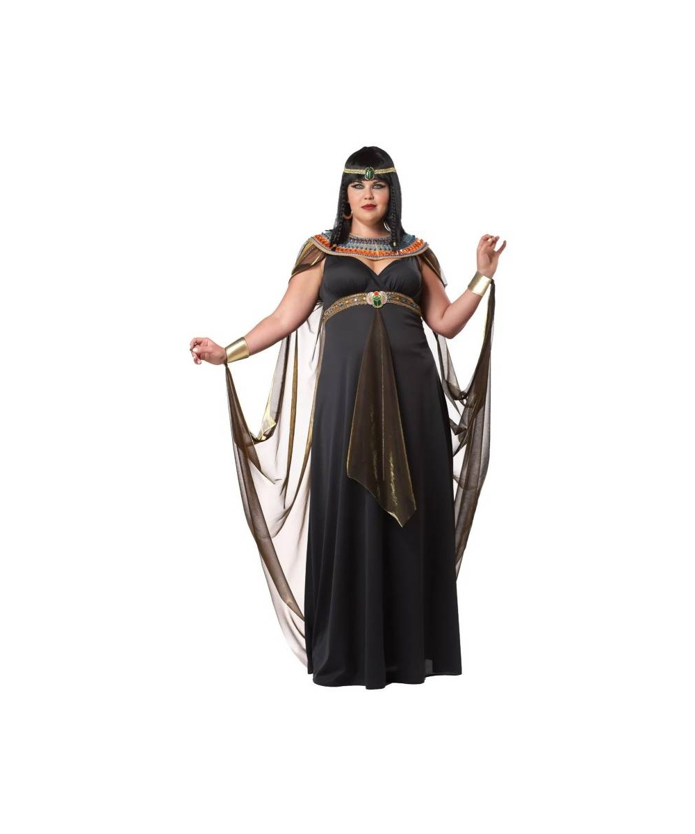 Adult Queen of the Nile plus size Cleopatra Egyptian Costume