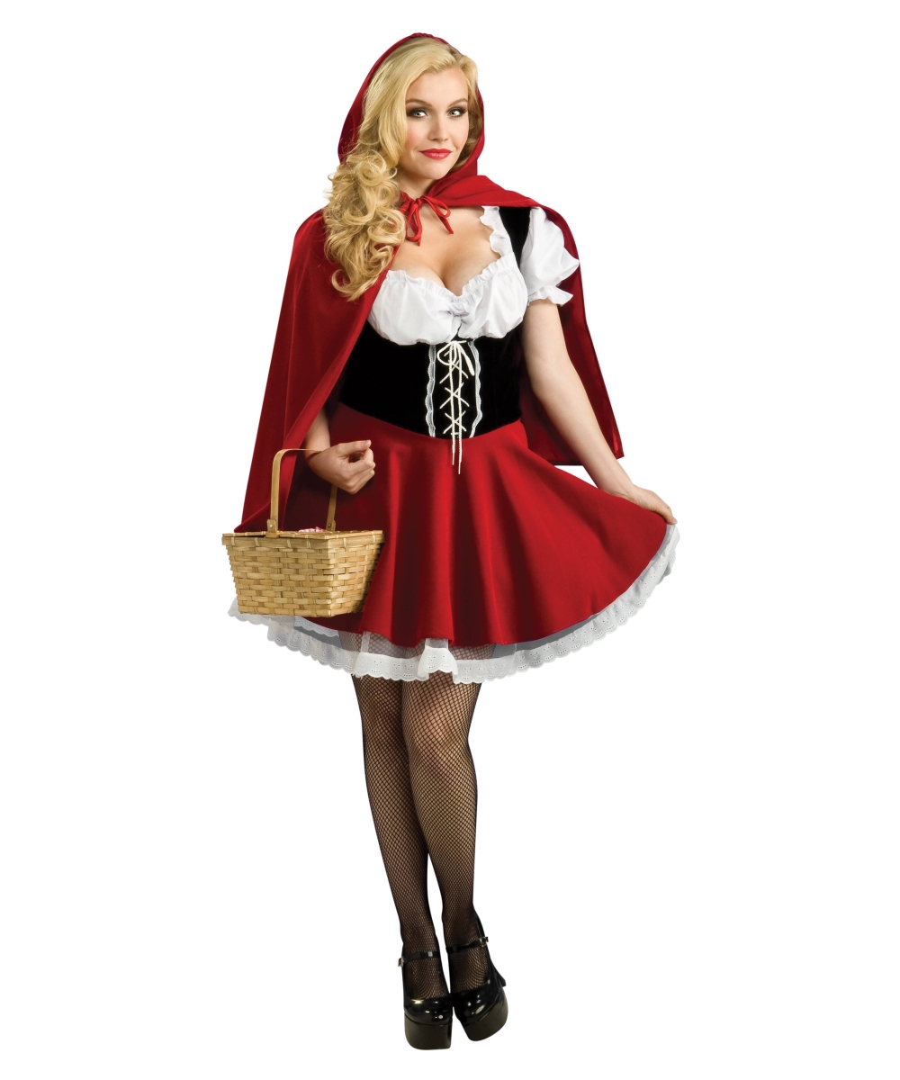 Adult little red riding hood costumes does not