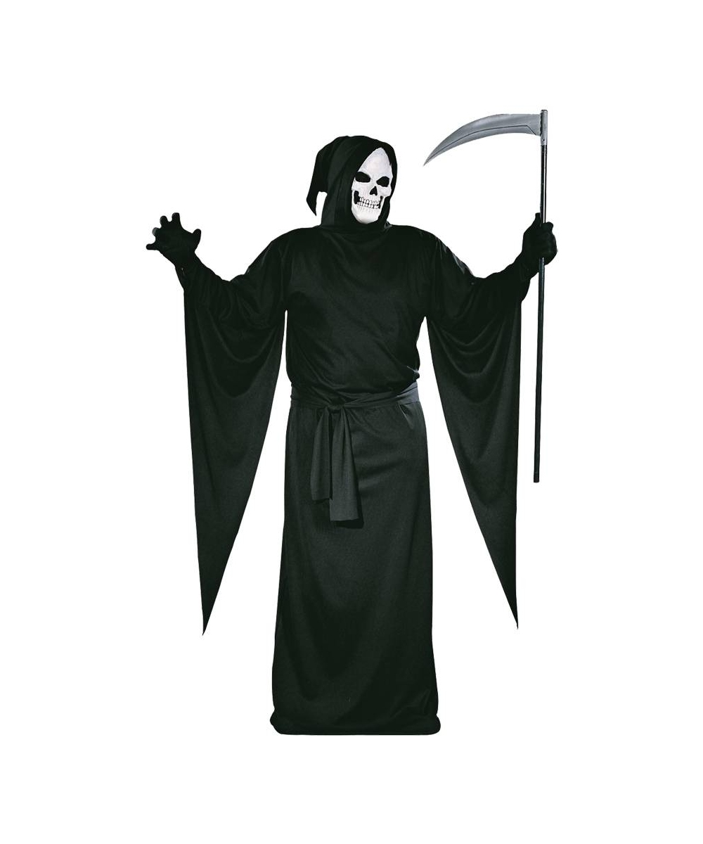 ghost grim reaper halloween adult costume ghost costumes - Halloween Jack Costume