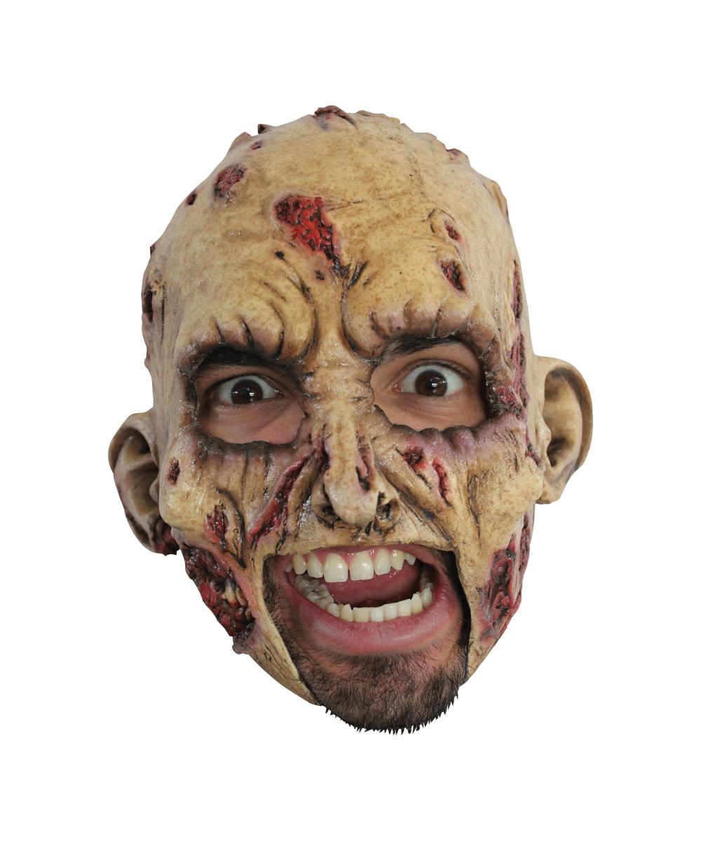 Zombie Psycho Head Mask - Masks