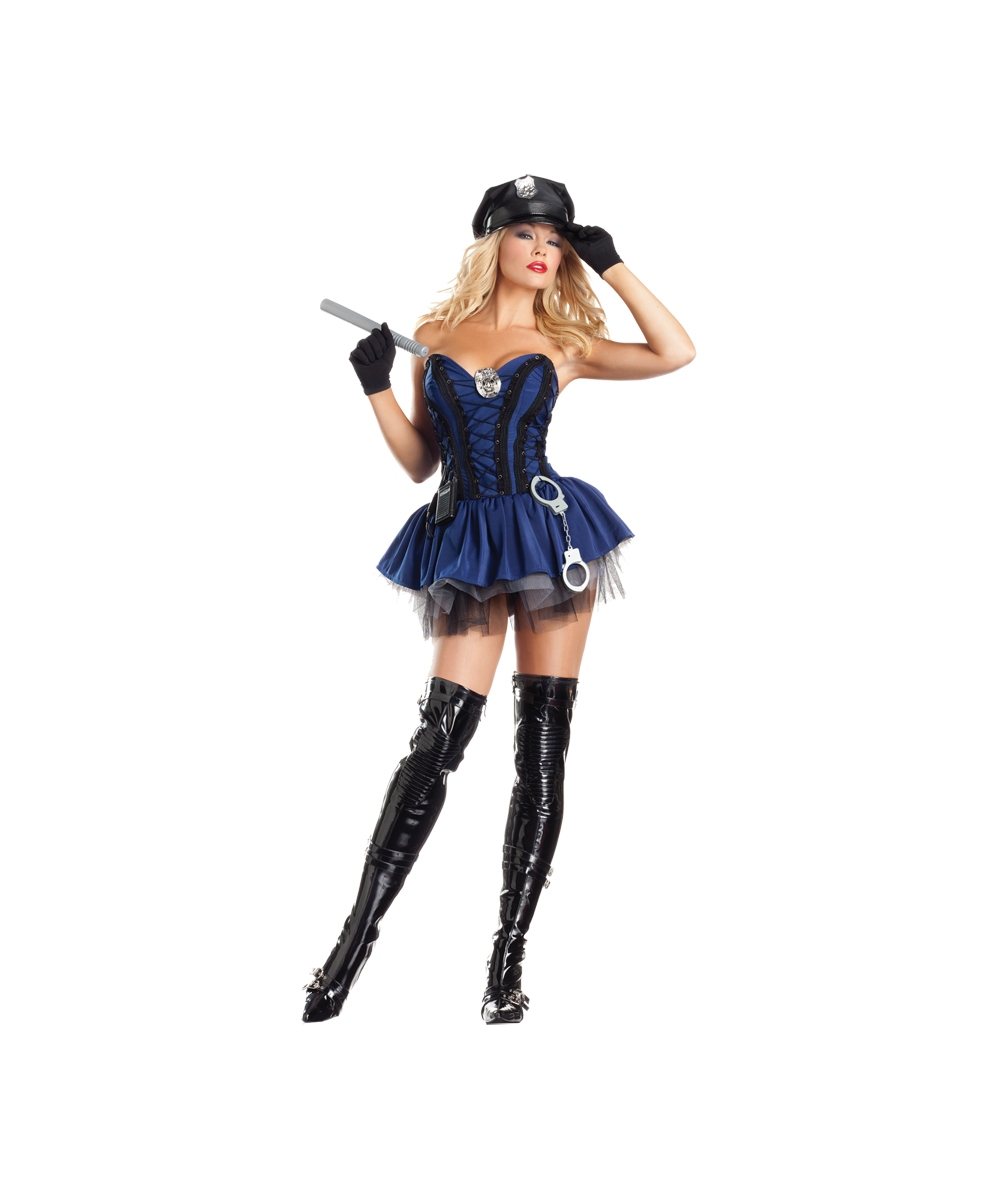 Sergeant Womens Costume