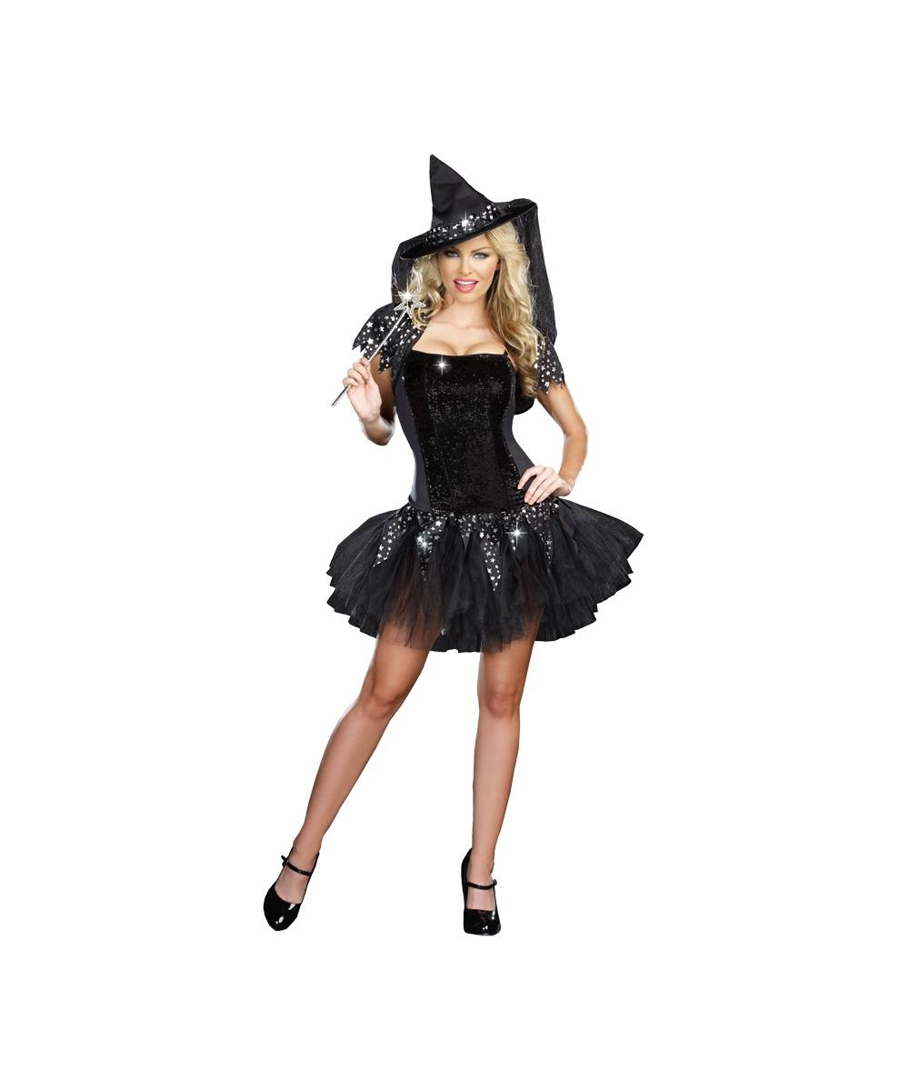 Adult Bygone Witch Halloween Costume - Women Costumes