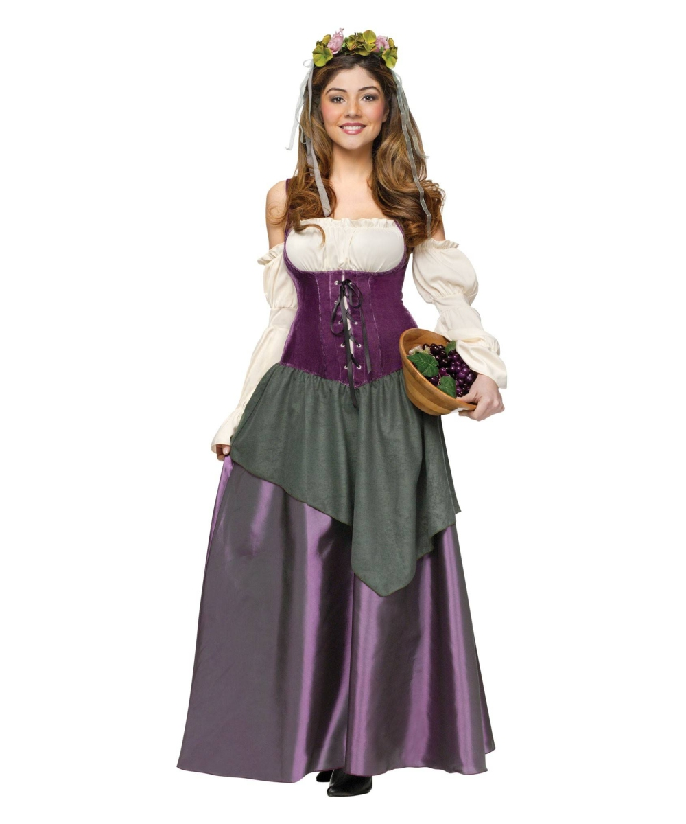Adult Wicked Wench Peasant Dress plus size Pirate Sexy Costume ...