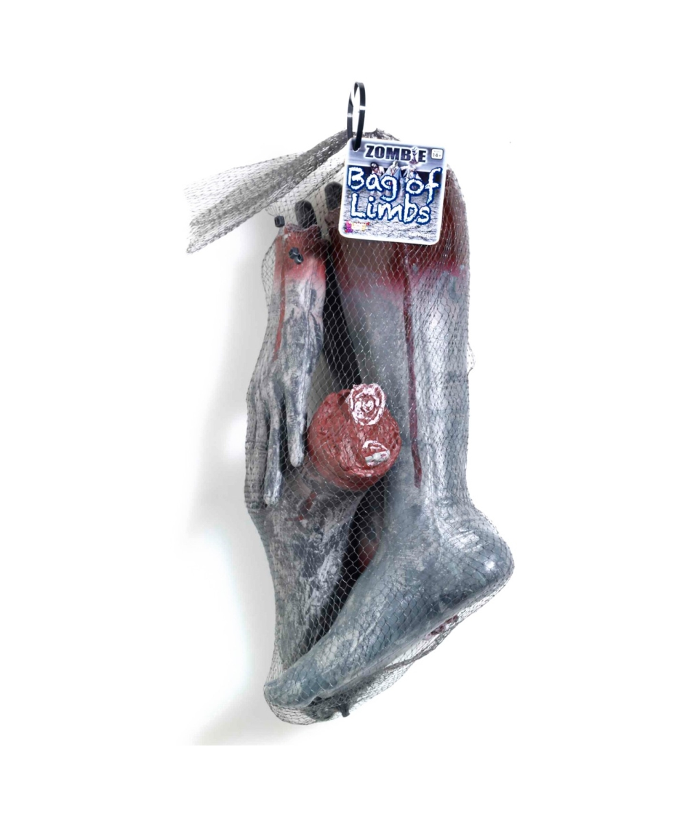 Zombie bag of limbs halloween prop halloween decoration for Decoration zombie