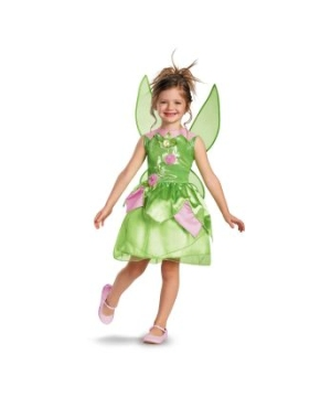 Tinker Bell Classic Disney Girls Costume