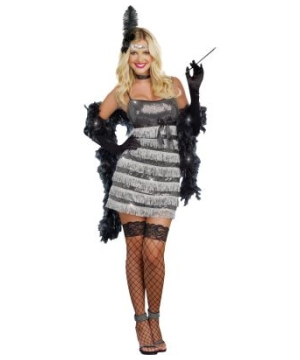 20s Vixen Womens Costume
