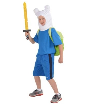 Adventure Time Finn Boys Costume