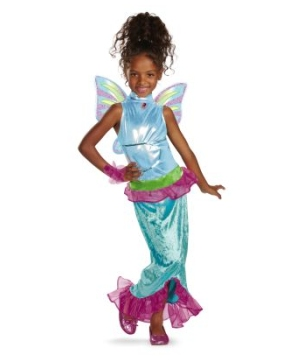 Aisha Mermaid Girls Costume