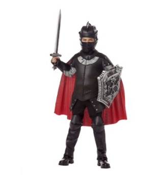 Black Knight Boys Costume