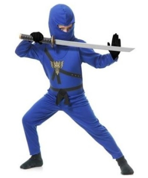 Blue Ninja Avengers Kids Costume