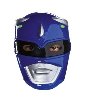 Blue Power Ranger Vacuform Mask