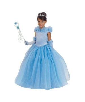 Blue Princess Cinderella Girls Costume