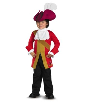 Jake and the Neverland Captain Hook Boys Costume
