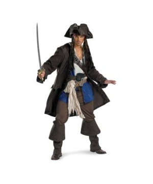 Captain Jack Sparrow plus Costume