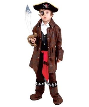 Caribbean Pirate Kids Costume