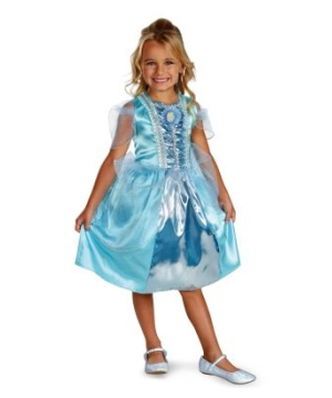 Cinderella Sparkle Disney Girls Costume