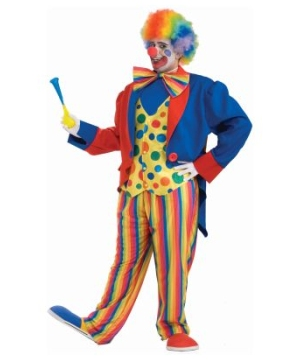 Colorful Clown Men Costume