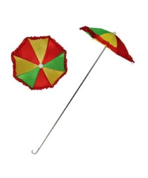 Colorful Clown Umbrella