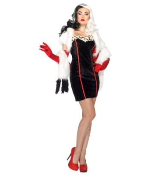 Cruella Womens Costume