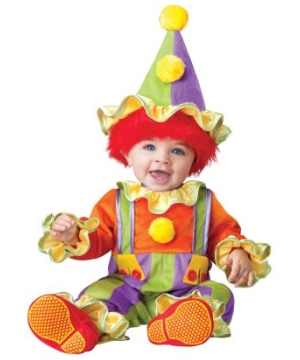 Cuddly Clown Baby Costume