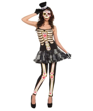 Day Dead Woman Costume