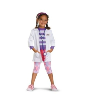 Doc Mcstuffins Disney Toddler/ Girls Costume deluxe