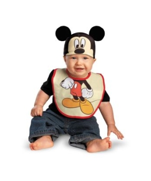 Disney Mickey Mouse Bib Baby Costume
