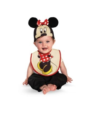 Disney Minnie Mouse Bib Baby Costume