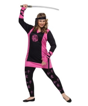 Dragon Ninja plus size Costume