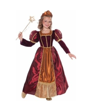 Enchanted Princess Girls Costume