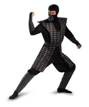 Evil Black Men Ninja Costume