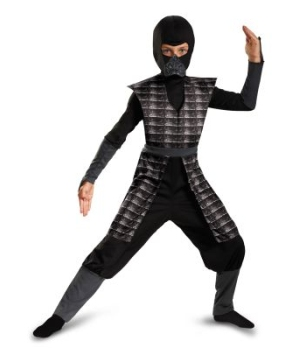 Evil Ninja Black Boys Costume