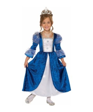 Frost Princess Girls Costume