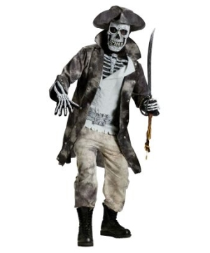Ghost Pirate Mens Costume