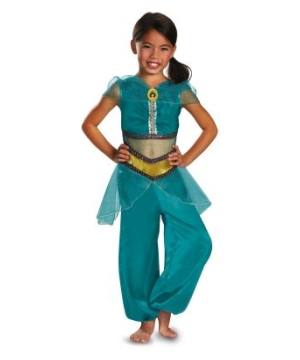 Girls Jasmine Sparkle Disney Costume