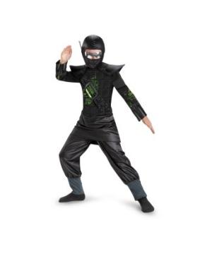 Core Black Glow in the Dark Boys Ninja Costume