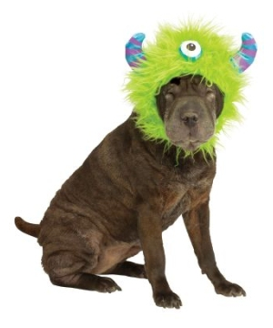 Green Hoodie Dog Costume