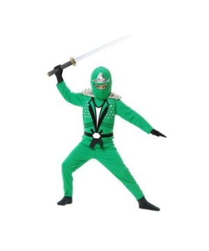 Green Ninja Avengers Kids Costume