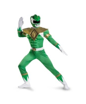 Green Power Ranger plus size Costume