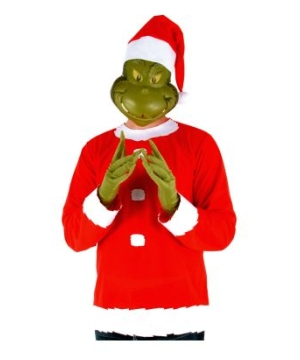 Grinch plus size Costume