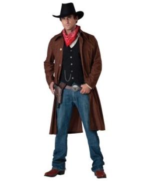 Gritty Gunslinger Men Costume deluxe