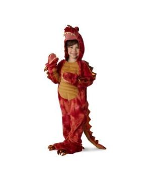 Headed Dragon Boys Costume