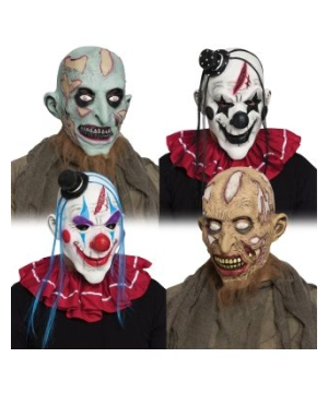 Horror Clown Zombie Mask
