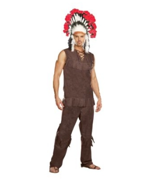 Indian Chief Mens Costume