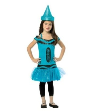 Kids Costume Steel Blue