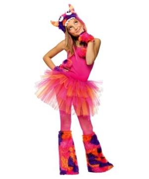 Monster Hoodie Kids Costume Accessory