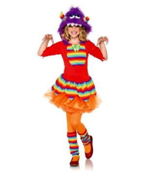Kids Rainbow Monster Costume