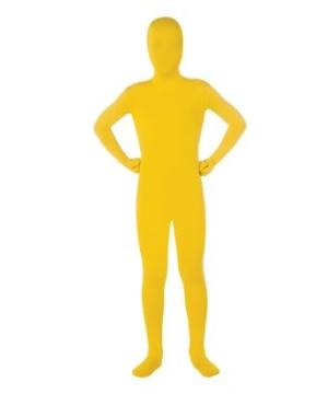 Kids Skin Suit Yellow