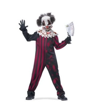 Mens Vintage Clown Tuxedo Costume